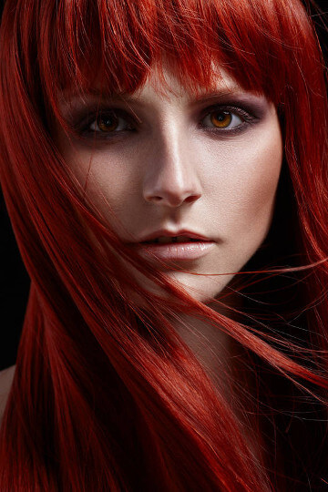 Hair Stylist Preston Penwortham Fulwood - Model With Beautiful Red Hair