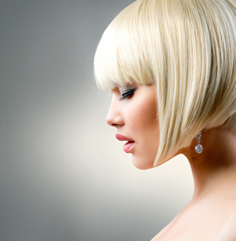 Hair Stylist - Preston Penwortham Fulwood - Model With Short Blonde Hair