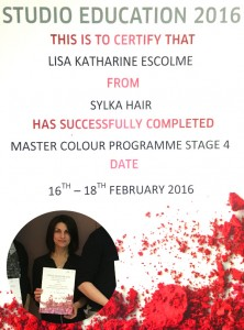 Master Colour Programme 2016 - Stage 4 Passed