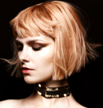 Sylka Hair - woman with short cropped blonde hair - inspiration 01