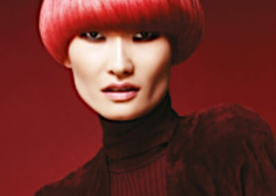 Sylka Hair - woman with short red hair - inspiration 03