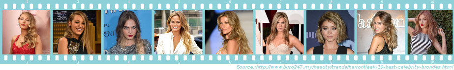 The Bronde Look Celebrities - Get The Bronde Look in Preston - Kirkham - Penwortham - Hoghton - Longridge - Garstang