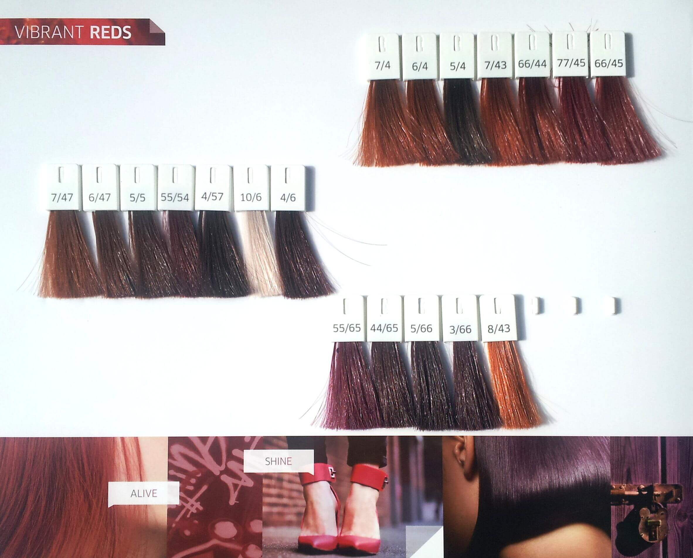 Vibrant Reds - Colour Touch - Semi Permanent Hair Colouring - Wella Professionals - Sylka Hair