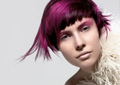 short hair styles - colour highlights - for inspiration 002