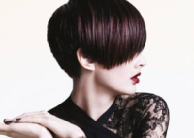 short hair styles - colour highlights - for inspiration 004