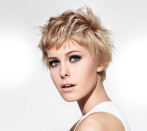 short hair styles - colour highlights - for inspiration 005